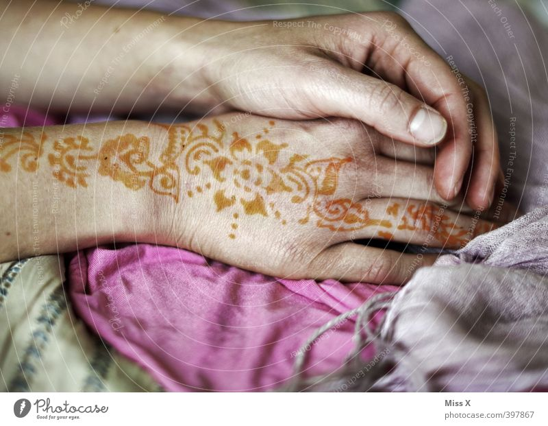 Human being Woman Youth (Young adults) Hand Young woman Adults Love 18 - 30 years Feminine Emotions Art Moody Arm Decoration Fingers Wedding