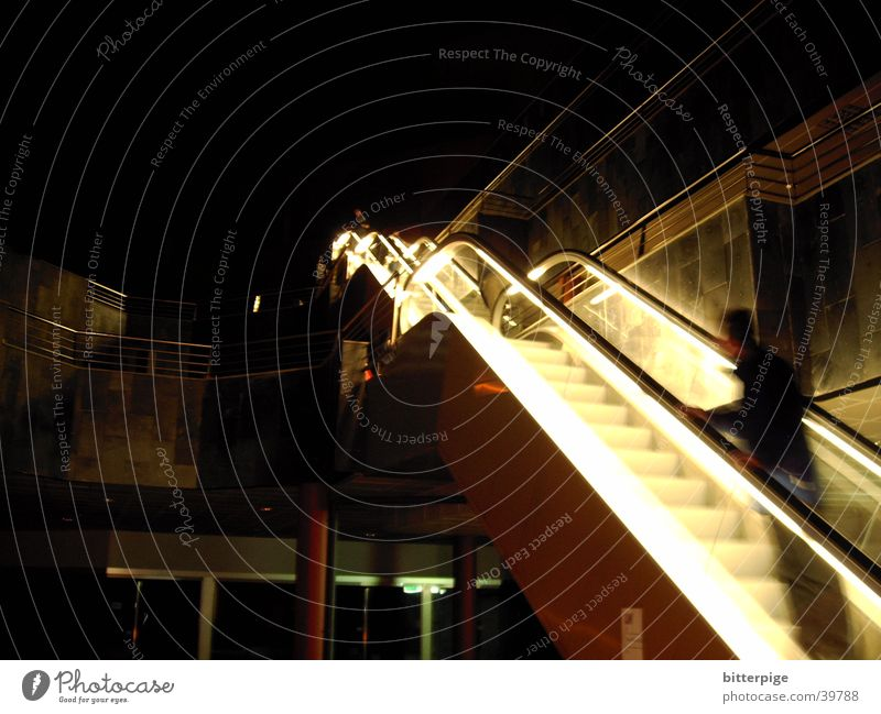 Lighting Architecture Escalator