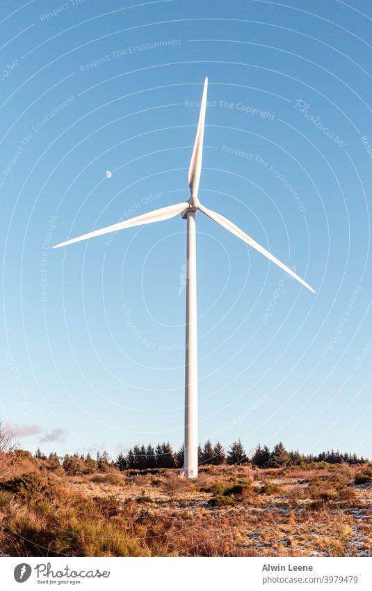 Cathkin Braes Wind Turbine Windmill Glasgow Scotland park Sustainability Energy Electricity Renewable energy