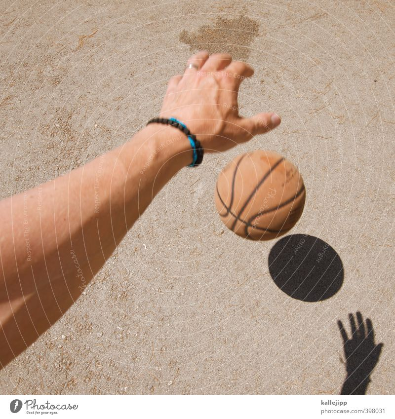 rookie Sports Fitness Sports Training Ball sports Sportsperson Human being Masculine Man Adults Arm Hand Fingers 1 30 - 45 years Playing Basketball Dribble