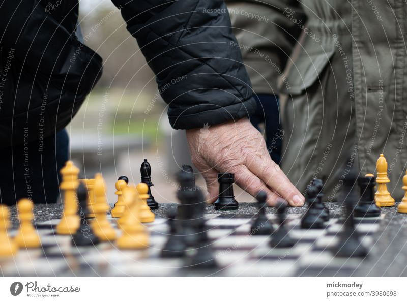The game of kings and queens Kings Chess Chessboard Playing Tower Runner Battle strategy Intellect Competition strategically Think thinking think of ...