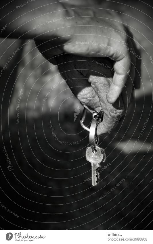 stop car keys Hand Drive pause time-out Break B/W