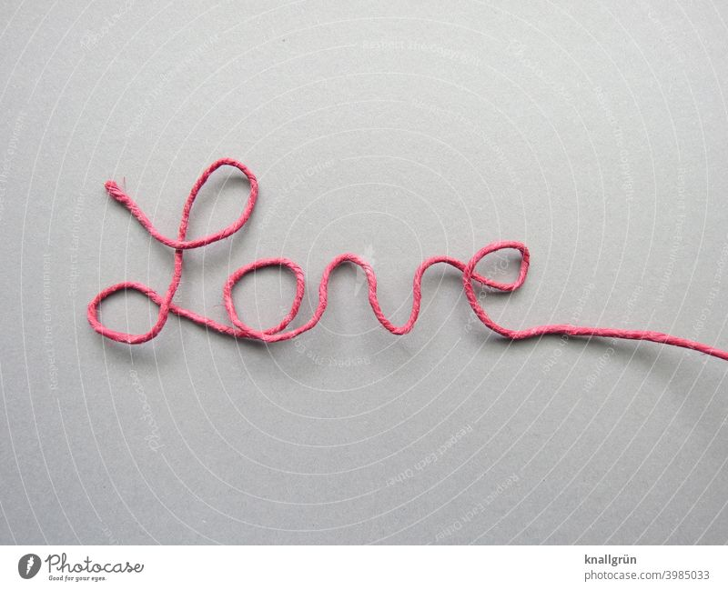love Love lettering DIY Characters paper wire Letters (alphabet) Word flexed Wire Self-made Typography Text Sign Deserted writing cursive Communicate