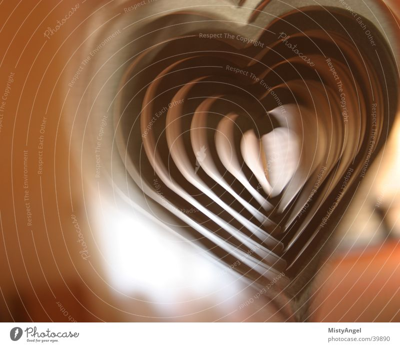 heart Motion blur Brown Things Heart color Partially visible Detail