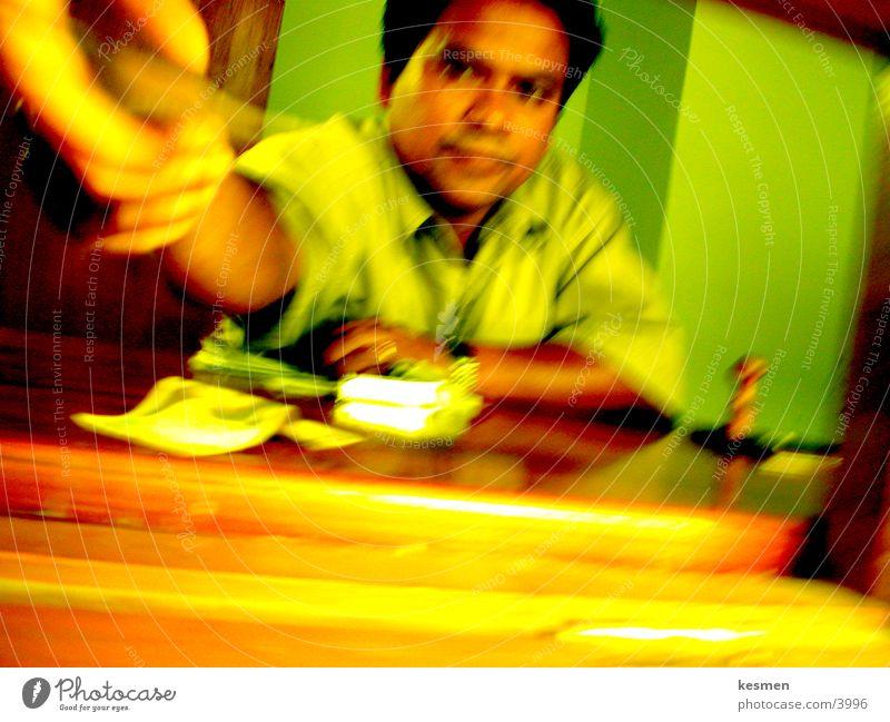 Working man Photographic technology Cashier