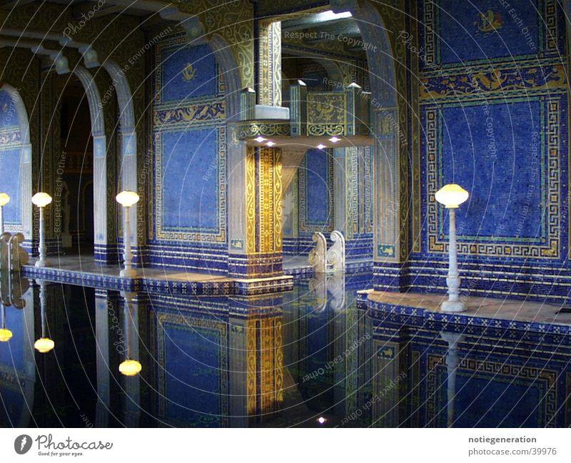 Roman pool Swimming pool Architecture Romanesque style