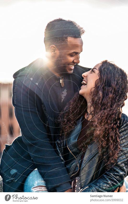 Happy Interracial Couple couple relationship interracial couple black afro african american diversity multi-racial black man ethnic multi-cultural multi-ethnic