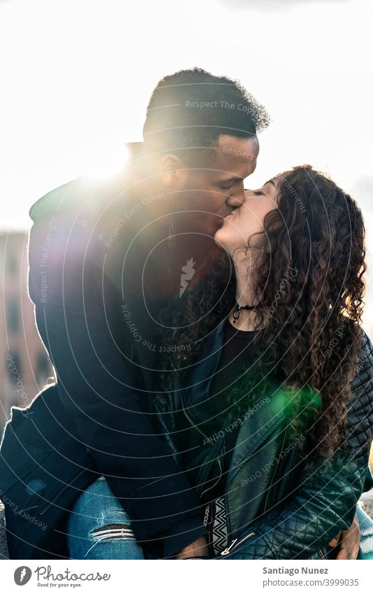 Interracial Couple Kissing kissing couple relationship interracial couple black afro african american diversity multi-racial black man ethnic multi-cultural