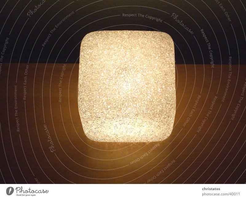 Lamp Dark Style Design Living or residing Things Interior design Seventies Cube
