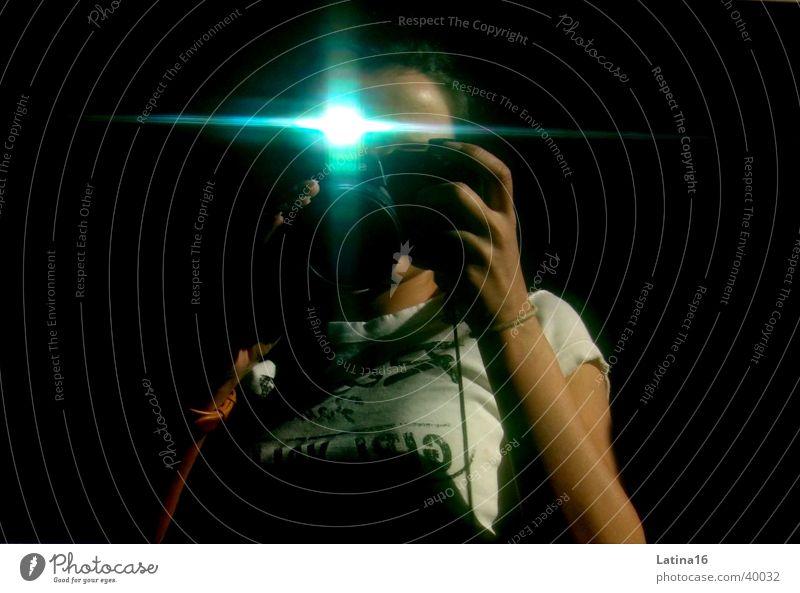 Human being Black Photography Camera Flash photo Take a photo Digital camera