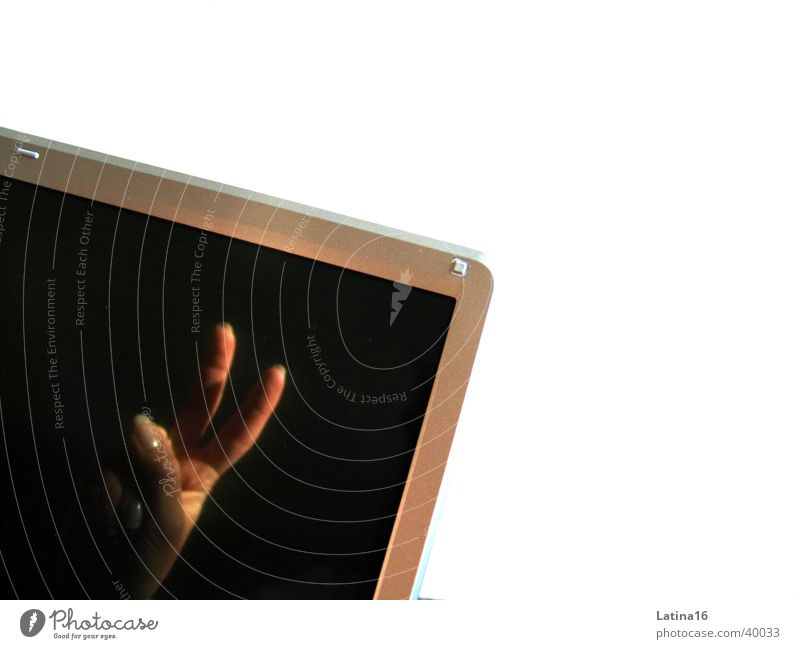peace Peace Fingers Screen Notebook Hand Photographic technology V victory