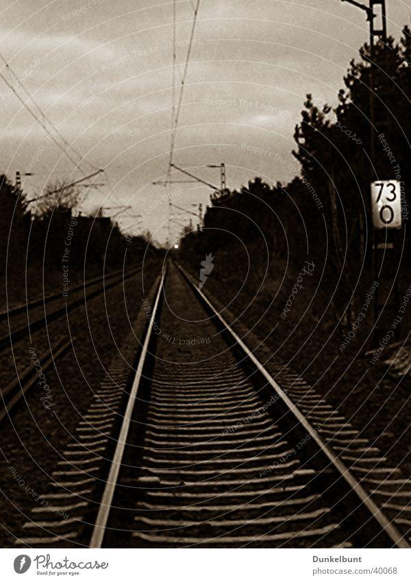 Sky Tree Railroad tracks
