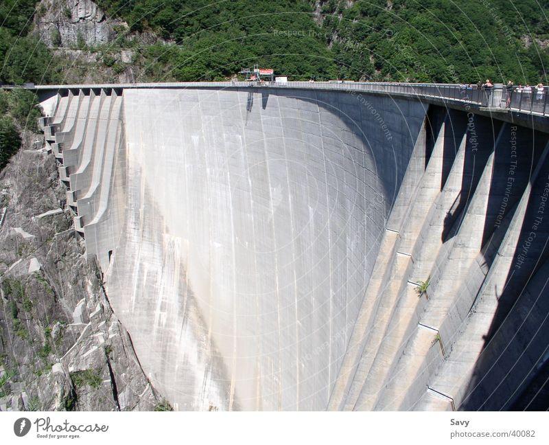Wall (barrier) Architecture Switzerland Retaining wall Reservoir