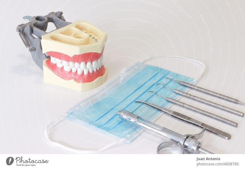 Odontology Dentist Dental odontology Medical instrument Face mask