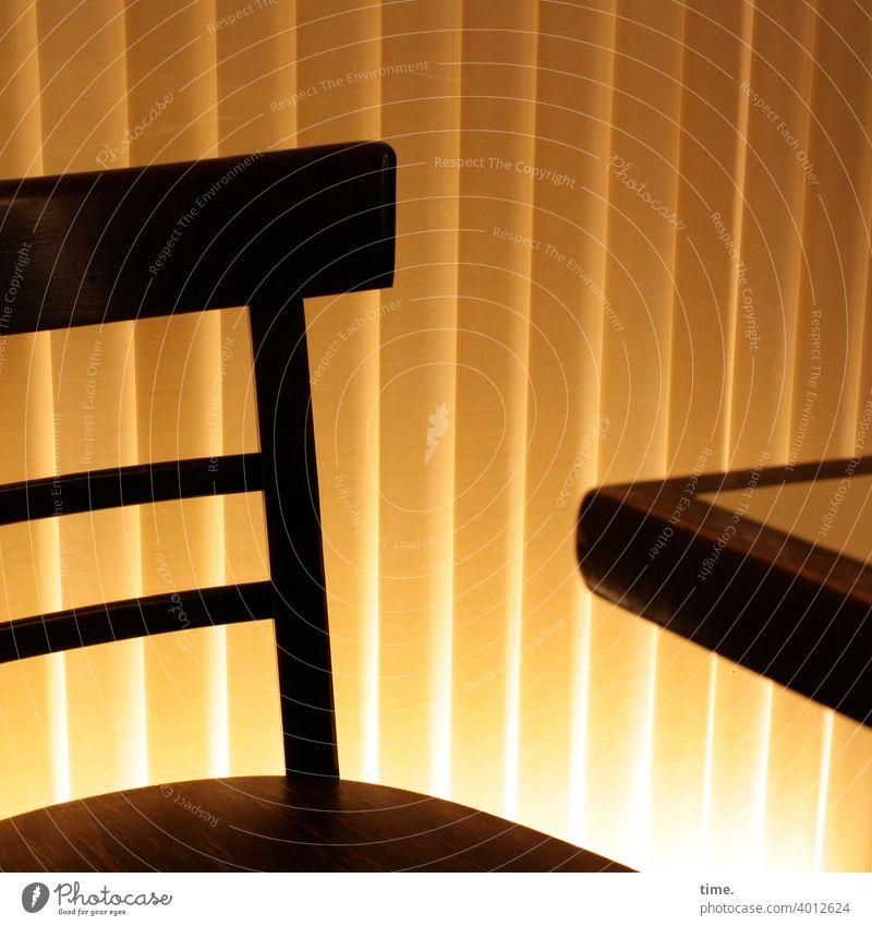 Seated area (18) Chair Table edge Back-light Drape Artificial light Dazzle