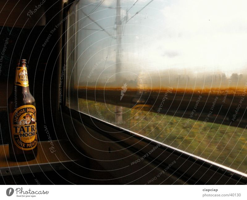 "polish beer ""tatra"" Tatra Leisure and hobbies window shadow train train in travel"