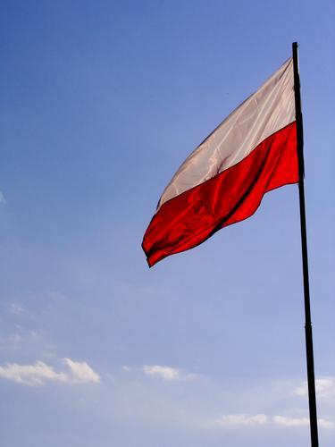 Poland Flag Exhibition Trade fair flags poland