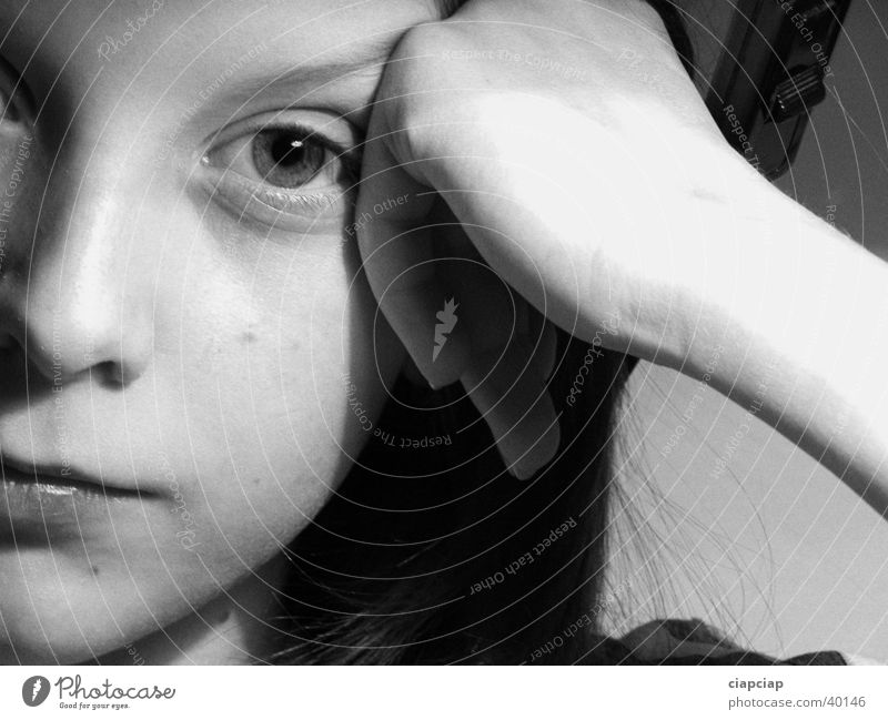 portret Child Woman