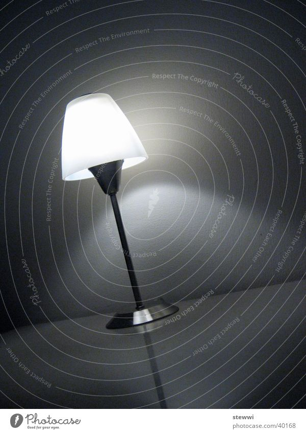 Lamp Dark Design Table Stand Living or residing Cozy Idea Illuminate Awareness Standard lamp Bedside table Good night