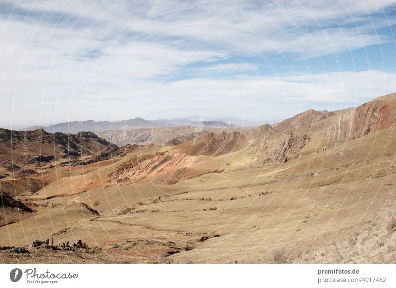 Atacama desert in Chile, South America. Exterior shot. Daylight. Landscape format. Photo: Alexander Hauk Desert atacama atacama desert Americas daylight Nature