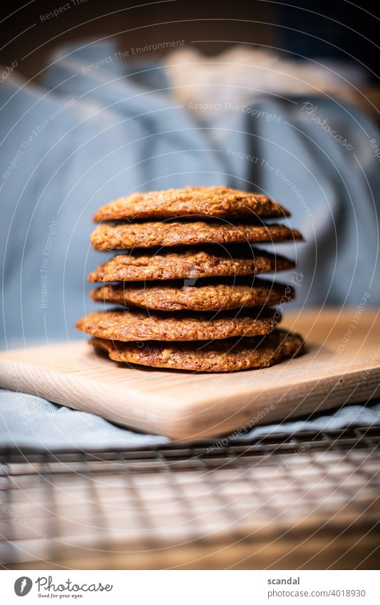 Cookie Tower - Cookie Tower cookies Baking baked cute Candy sweets Sweet food baking baking paper Dessert Food Delicious Baked goods Nutrition Dough
