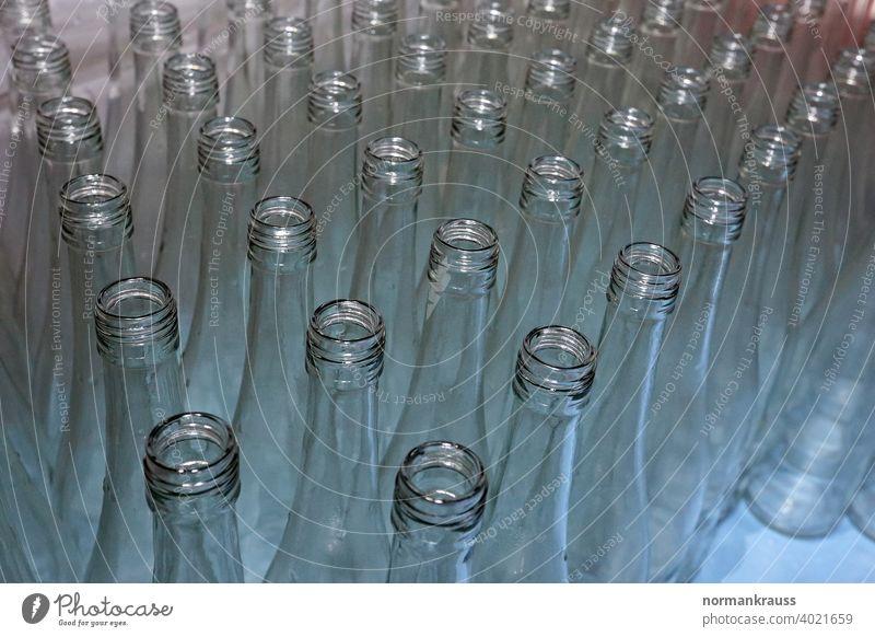 empty bottles Neck of a bottle Bottle pallet Empty white glass Row Open crystal clear Bottle of redwine Many quantity Glass