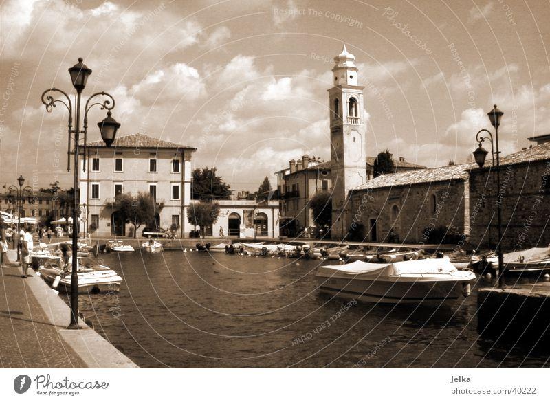 Vacation & Travel Water Lake Tourism Europe Italy Harbour Village Verona Body of water Lake Garda South Tyrol Garda Lazise