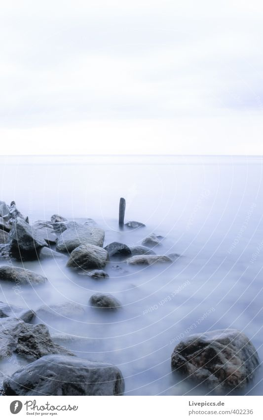Sky Nature Blue Water Ocean Landscape Clouds Beach Environment Cold Autumn Coast Gray Wood Stone Waves