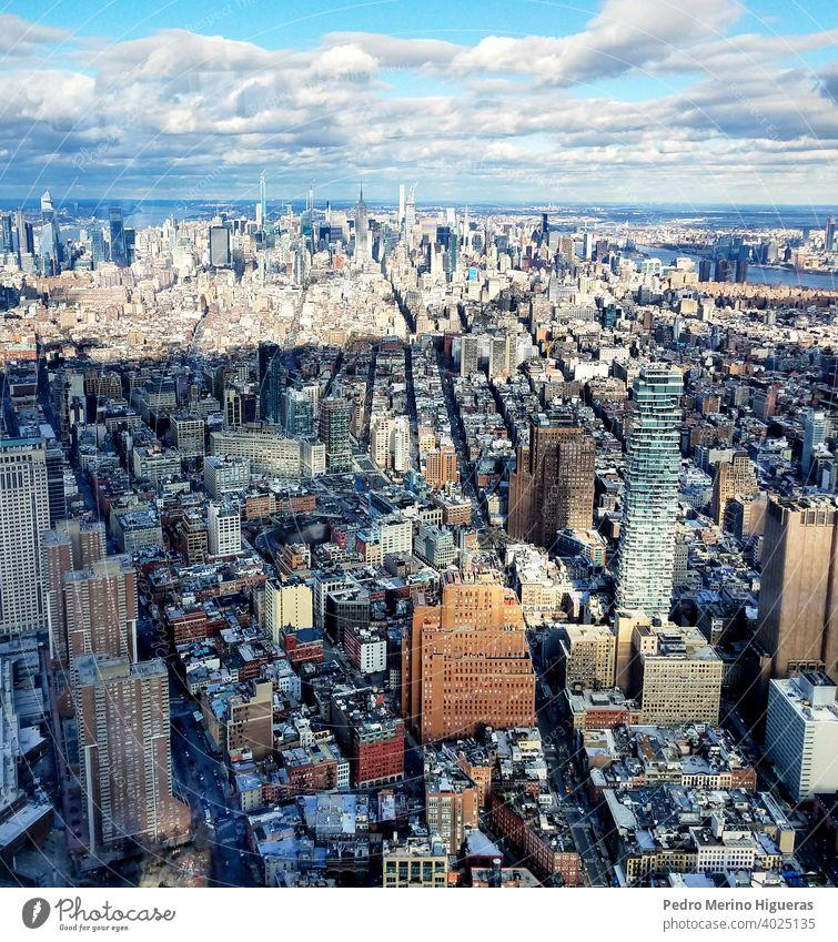 Views of New York city. us building architecture aerial skyline office new america business york urban view skyscraper manhattan city landscape new york city