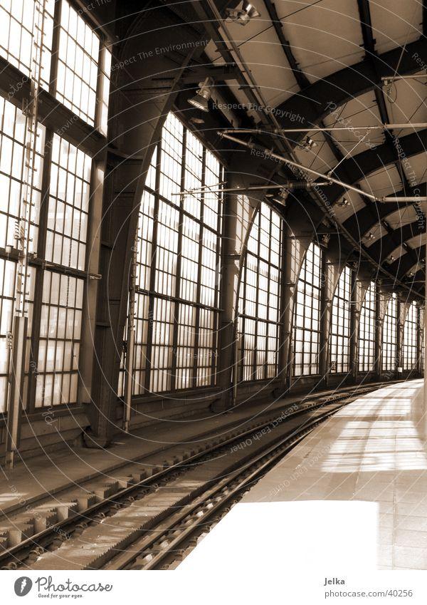 Berlin Transport Railroad Railroad tracks Wanderlust Train station Homesickness Friedrichstrasse