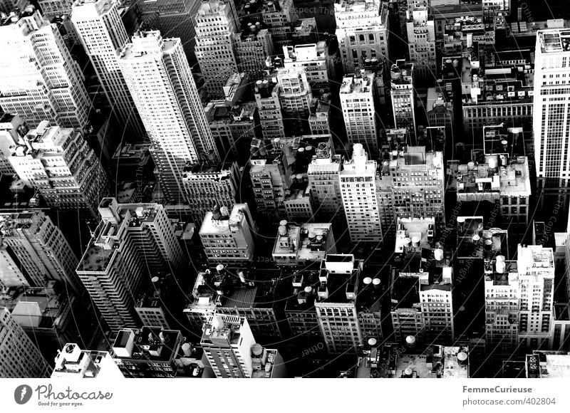 NYC (IV) Town Capital city Port City Downtown Skyline Populated Overpopulated Dream house High-rise Bank building Wall (barrier) Wall (building) Facade Trade