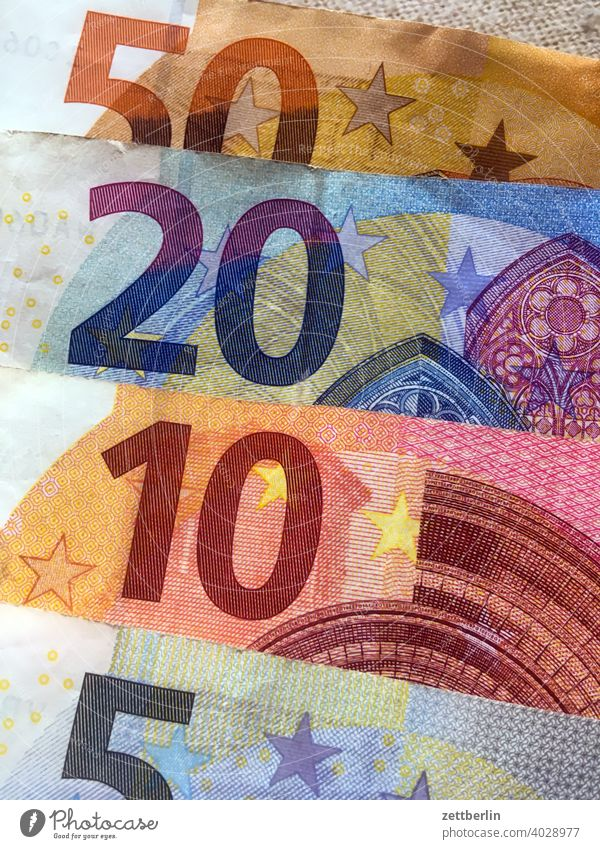 85 Euro in notes Bench Loose change bribe Payment receipts finance Money Bank note corruption paper money pretence Illegal earnings Play money tax tax revenue