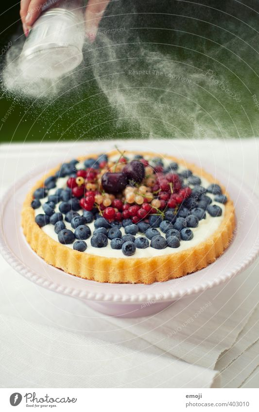 Natural Fruit Nutrition Sweet Candy Delicious Berries Picnic Summery Gateau Dessert Holiday season Confectioner`s sugar