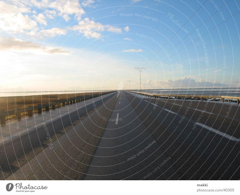 Street Europe Island Infinity Direct Crossing Rømø