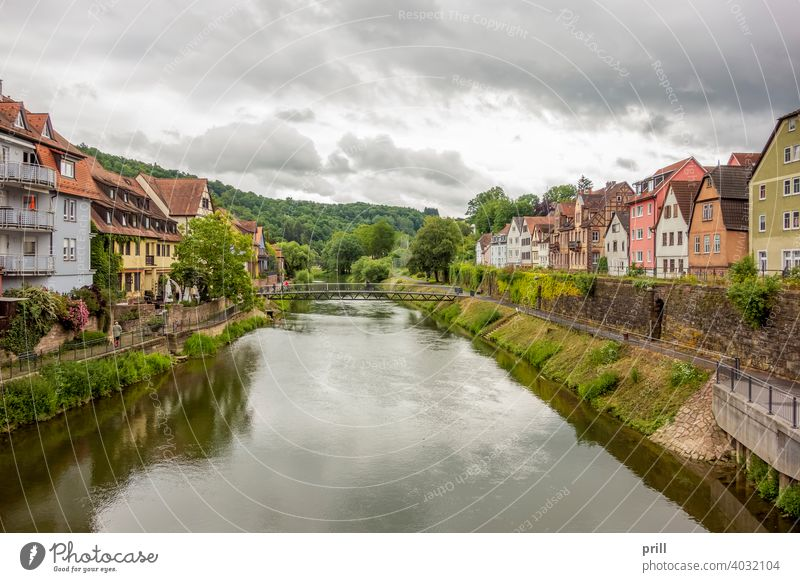 Wertheim am Main wertheim city architecture half-timbered half timbered medieval house facade old historic culture tradition old town pedestrian area summer