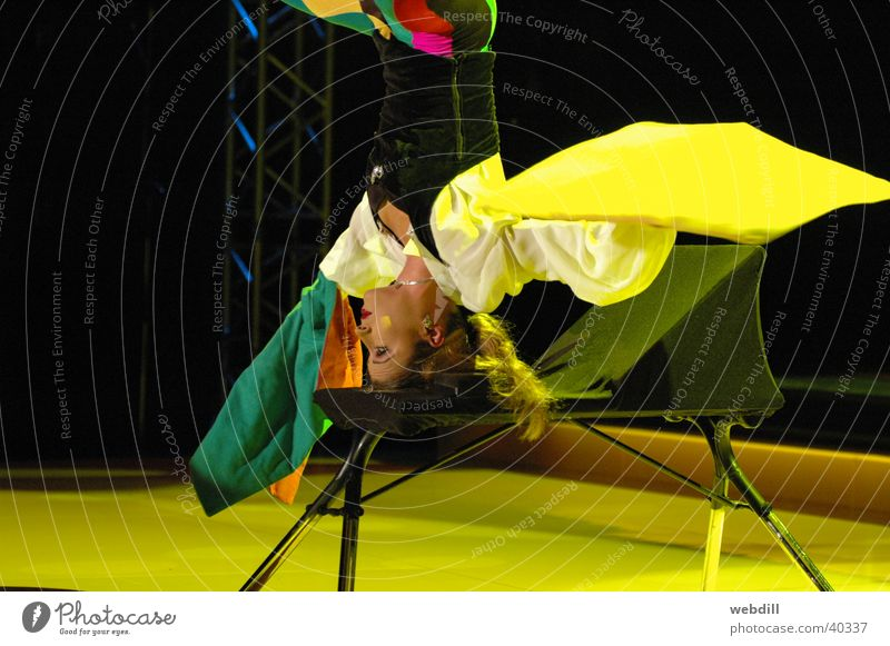 Woman Acrobat Carpet Circus