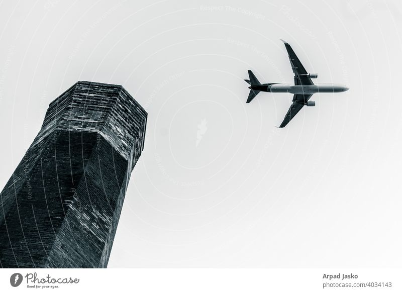 Love Comes On A Wing BEST OF Monographs Street Photography Urbanism Airplane Tower Black And White