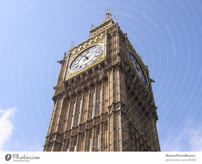 Architecture Tower Clock London Landmark Church clock Big Ben