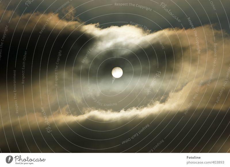 Sky Sun Clouds Dark Bright Weather Threat