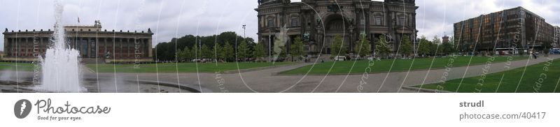 House (Residential Structure) Berlin Architecture Large Island Well Share Museum Panorama (Format) Palace Museum island