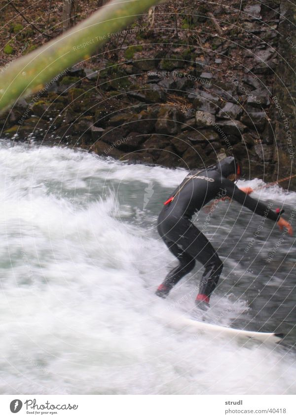 Water Sports Waves River Surfing Bavaria Loisach