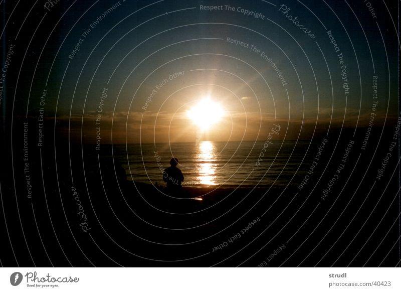 Atlantic Sunset. Atlantic Ocean France Sky Water Evening