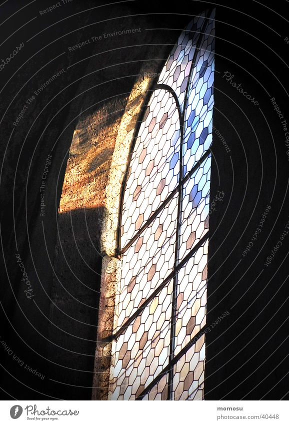 incidence of light Church window Multicoloured Historic Light Religion and faith House of worship Glass