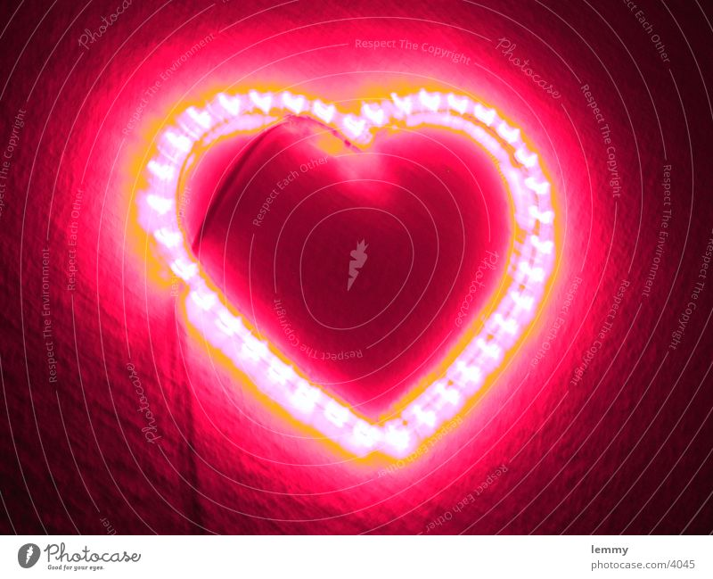 glowing heart... Love Things th You this ???