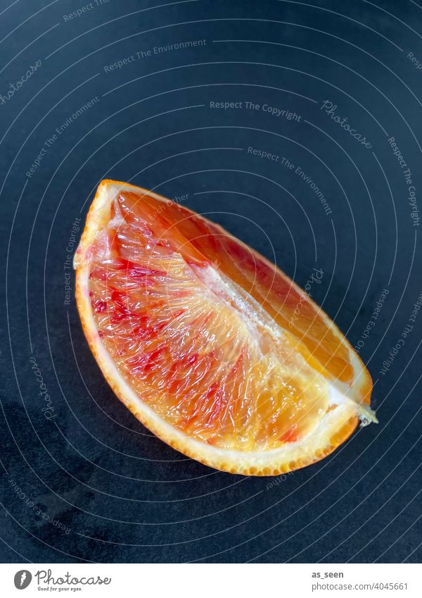 Blood Orange blood orange Column fruit Fresh Juicy Sour citrus fruit Vitamin C Fruit Healthy Healthy Eating Delicious Food Vitamin-rich Food photograph Fruity