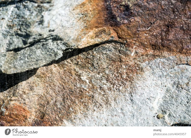 Who says that rocks only have to be boringly grey and cold? Uniqueness Colour photo Headstrong stones Stone Brown warm colors Broken break edge naturally