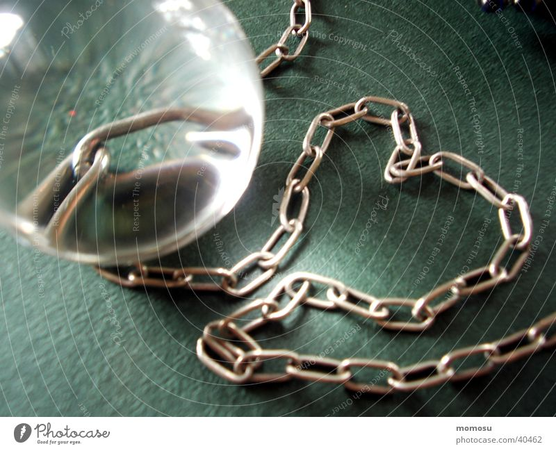 Love Heart Glass Sphere Chain Captured