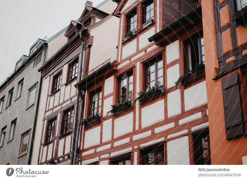 Nuremberg, Germany 12.25.2019 Beautiful and peaceful city after christmas. Traveling in Nuremberg old town. landmark urban german architecture building bavaria