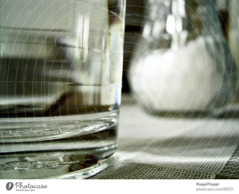 Water Glass Table Kitchen Sugar Donor