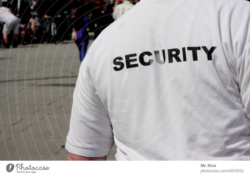 security watch Safety Protection Force felonies Anonymous law Criminality Man Police Force peril Defence White Dangerous Watchdog T-shirt Guard Guard service